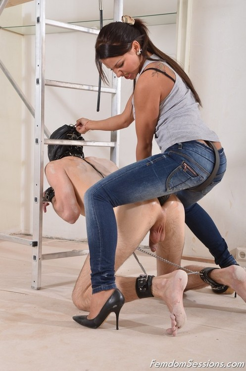 Strap on female domination movies