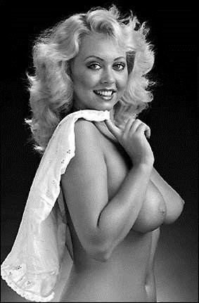 STRANGE THINGS ARE HAPPENING: DEBBIE LINDEN GALLERY; Babe Blonde Vintage British Softcore