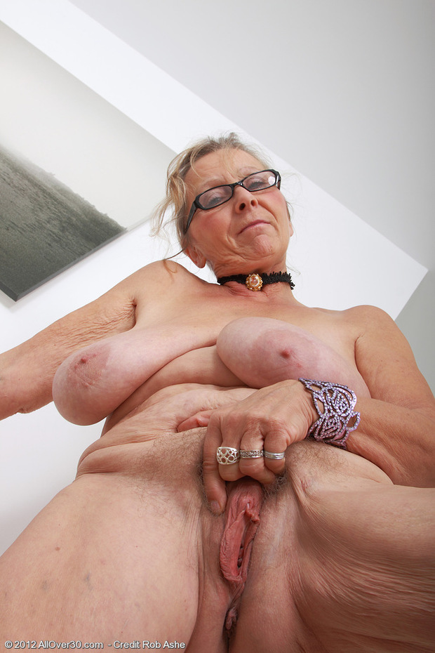 Remarkable, the Nude old girl big pussy was