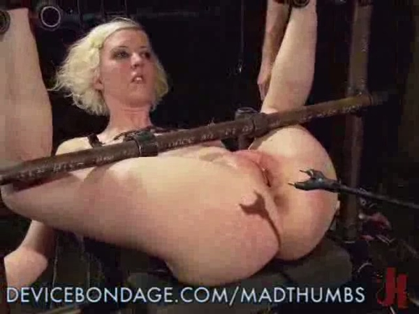 Painful anal slave