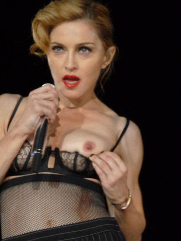 ...; Blonde Celebrity Madonna Natural