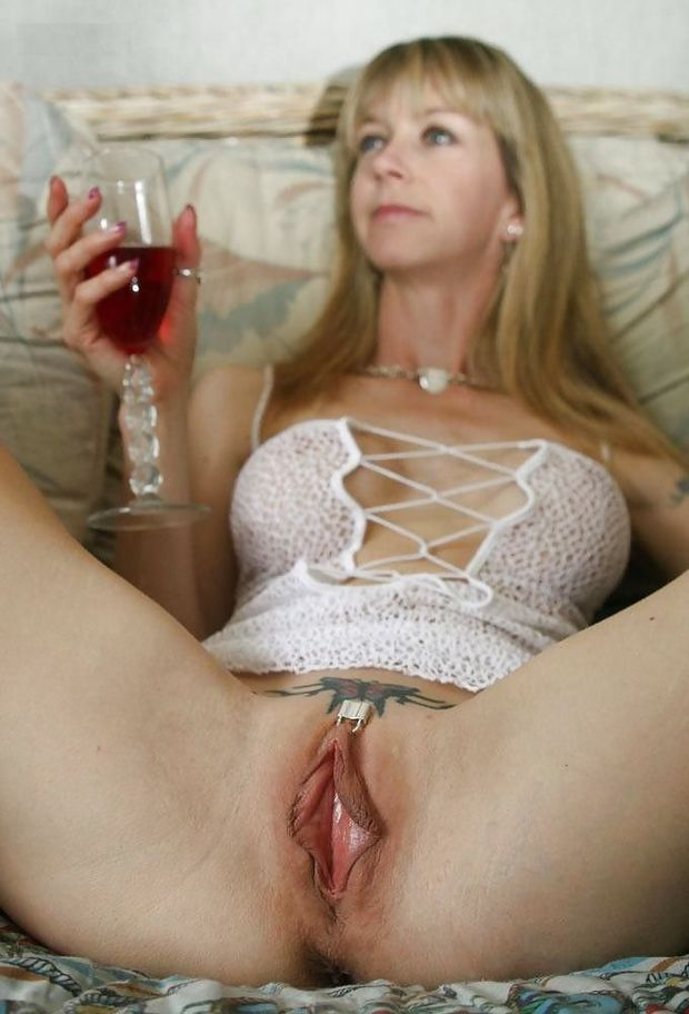 Big blonde mature