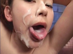 ...; Asian Bukkake Cumshot