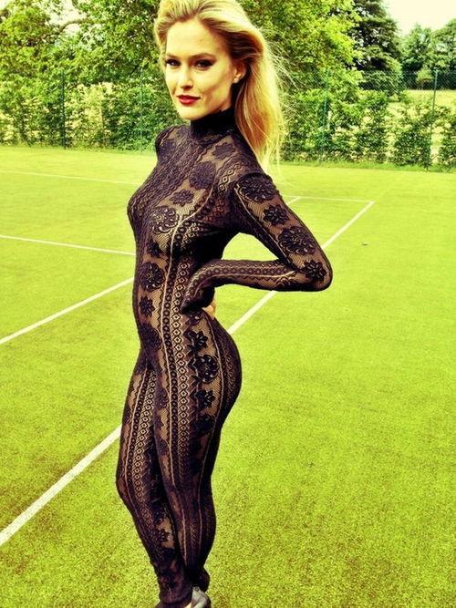 ...; Babe Blonde Celebrity Hot Lingerie