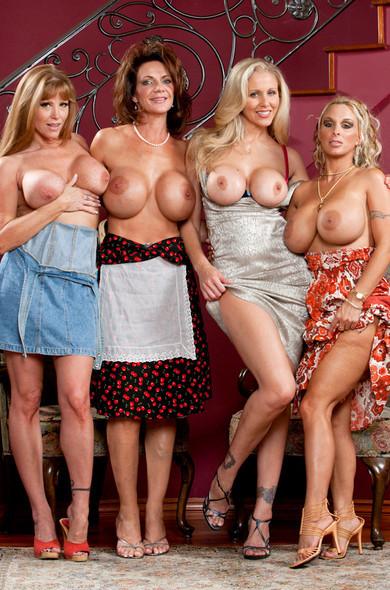 Фото голых американских мам